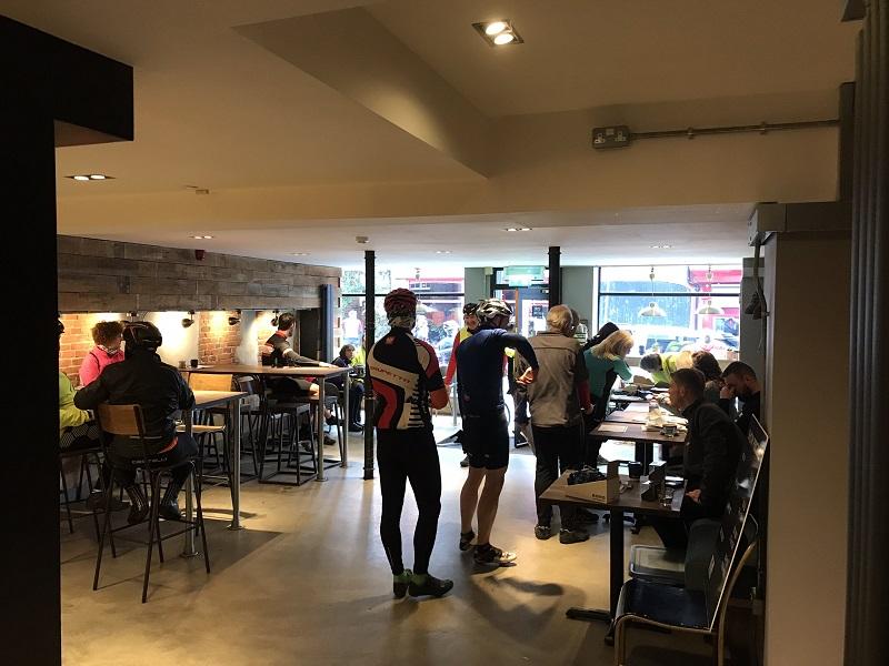 Registration at Bear Coffee